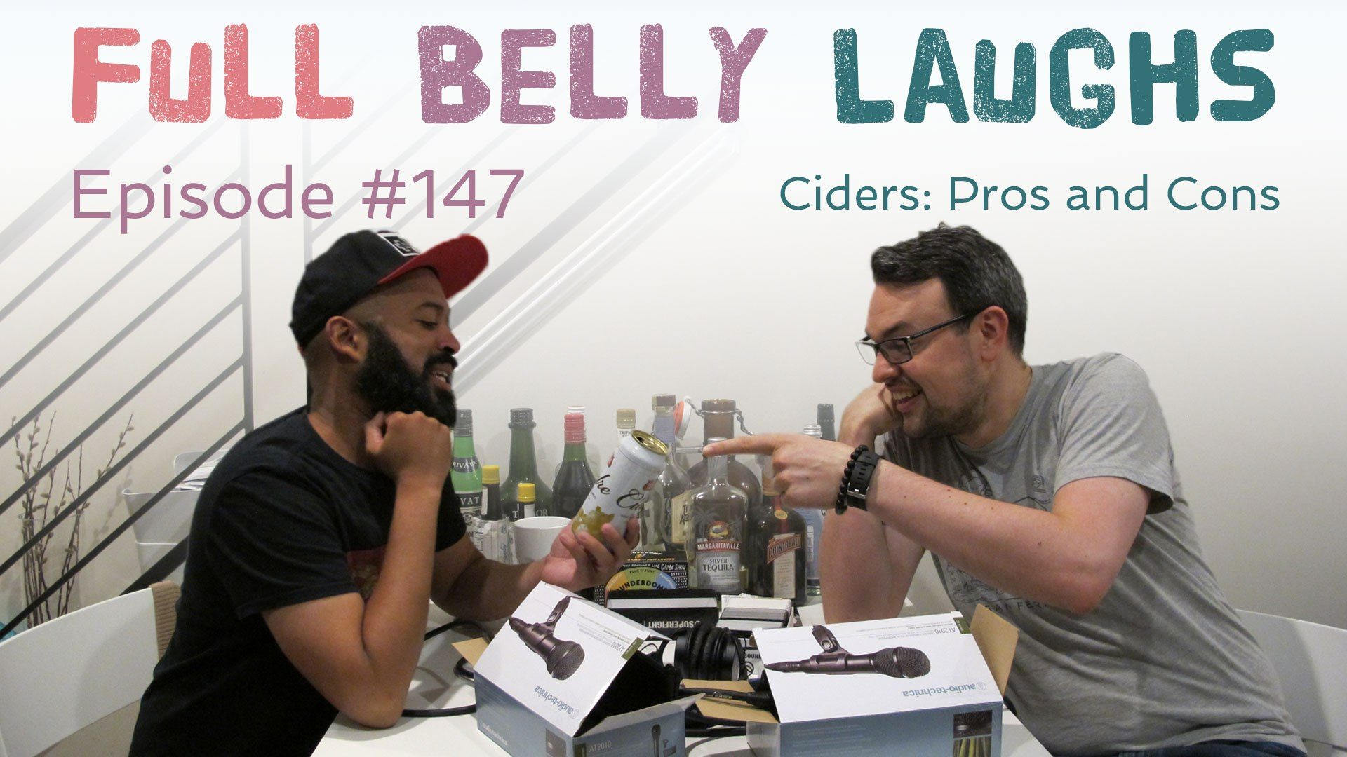 full belly laughs podcast episode 147 cider pros and cons audio artwork