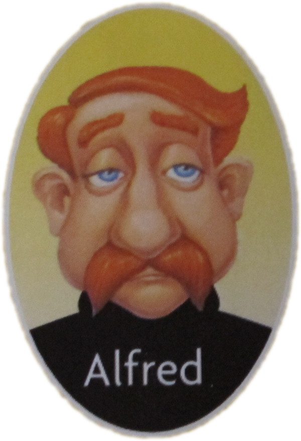 Guess Who Characters Alfred