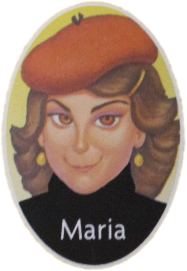Guess Who Characters Maria